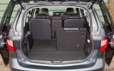 Mazda 5 seat flexibility