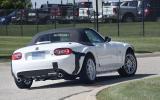 New Mazda MX-5 and Alfa Romeo Spider caught testing