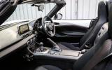 A closer look at the Mazda MX-5's cabin