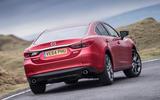 Mazda 6 hard rear cornering