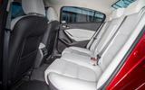 Mazda 6 rear seats