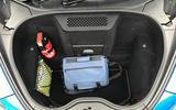 McLaren 570S Spider boot space