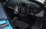 McLaren 570S Spider interior