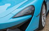 McLaren 570S Spider LED headlights