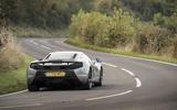 McLaren 650S rear cornering