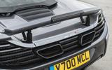 McLaren 650S rear wing