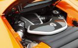 McLaren 650S 3.8-litre V8 engine