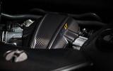 3.8-litre turbocharged McLaren 675 LT engine