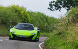 McLaren 675 LT on road cornering