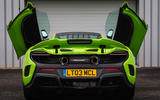 McLaren 675 LT rear end