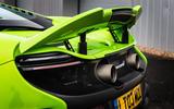 McLaren 675 LT rear wing