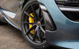 McLaren 720S yellow brake calipers