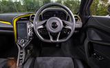 McLaren 720S dashboard
