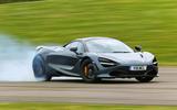 McLaren 720S drifting