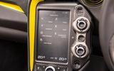 McLaren 720S infotainment system