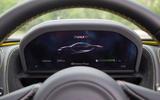 McLaren 720S instrument cluster