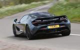 McLaren 720S rear cornering