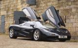 McLaren F1 dihedral doors