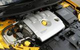 2.0-litre Renault Megane Renaultsport engine