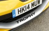 Renault Megane Renaultsport 275 Trophy decal