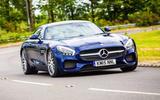 Mercedes-AMG GT cornering
