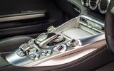 Mercedes-AMG GT centre console switchgear