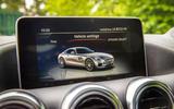 Mercedes-AMG GT infotainment system
