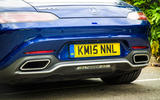 Mercedes-AMG GT twin exhausts
