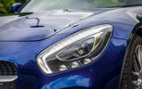 Mercedes-AMG GT performance LED headlights