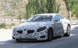 New Mercedes S-class coupe spied testing