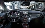 New York motor show: Mercedes-Benz CLA45 AMG 4Matic