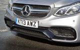 Mercedes-AMG E 63 front air intakes