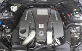 Mercedes-AMG E 63 5.5-litre V8 engine