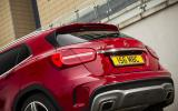 Mercedes-Benz GLA rear end