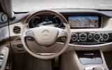 Mercedes-Benz S-Class dashboard