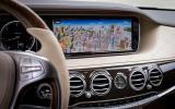 Mercedes-Benz S-Class infotainment system