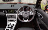 Mercedes-AMG SLC 43 dashboard