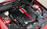 3.0-litre V6 Mercedes-AMG SLC 43 engine