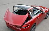 Mercedes-AMG SLC 43 roof mechanism