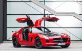 Mercedes-AMG SLS GT Final Edition gullwing doors
