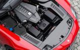 6.2-litre V8 Mercedes-AMG SLS engine