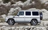 Mercedes-Benz G 350 side profile