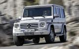 Mercedes-Benz G 350 cornering