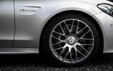 19in Mercedes-AMG C 63 alloy wheels