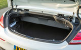 Mercedes-AMG C 63 Cabriolet roof down boot space