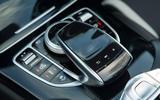 Mercedes-AMG C 63 Cabriolet infotainment controller