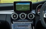 Mercedes-AMG C 63 Cabriolet infotainment system
