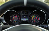 Mercedes-AMG C 63 Cabriolet instrument cluster
