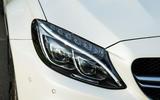 Mercedes-AMG C 63 Cabriolet LED headlights