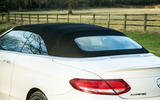 Mercedes-AMG C 63 Cabriolet soft-top roof